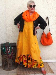 Как создать женщине образ в стиле бохо в 50 лет