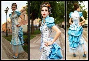 Современное платье в викторианском стиле