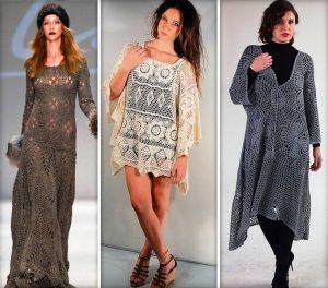 Грань между туникой в стиле бохо и платьем почти незаметна