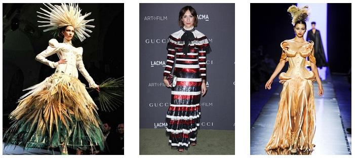 Эксперименты всегда приветствуются в авангардном направлении моды