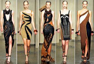 Африканский стиль в одежде имеет ярко выраженные черты в современной моде