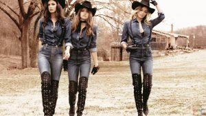 Многообразие американского стиля позволяет воплотить любые идеи в создание модного лука