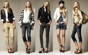 Американский стиль одежды подходит для любительниц повседневного и свободного образа