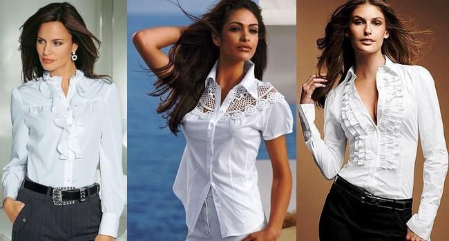 Блузка в стиле Шанель