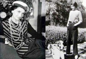 Именно Коко Шанель ввела блузку- матроску в гардероб женщины