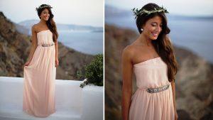 Греческий стиль, в первую очередь — это простой крой одежды и прямой силуэт