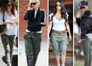 Выбираем брюки карго в армейском стиле по фигуре