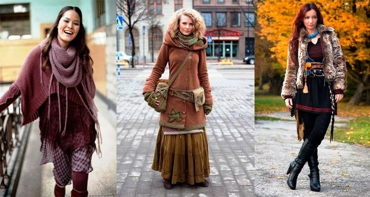 Богемный стиль одежды