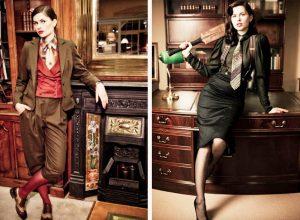 В правильно подобранной одежде стиля Денди женщина подчеркнет свою женственность и аристократичную сексуальность