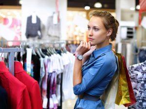 Многочасовые хождения по магазинам не приносят результатов