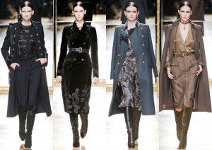 Женское пальто в стиле милитари представлено в большом ассортименте моделей для этого сезона