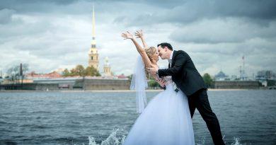 Санкт-Петербург – идеальное место для свадебной фотосессии