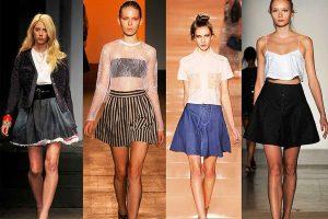 Дизайнеры любят экспериментировать, они пытаются предложить массу вариантов силуэтов юбки, чтобы у вас не возникал вопрос: «С чем носить юбку-колокольчик?»