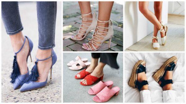 Летняя обувь наступающего сезона отличается необычностью формы, обилием ярких цветов и стразов.