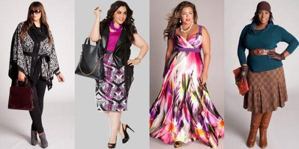 Мода для полных предлагает огромный выбор различных моделей на любой вкус и возраст.