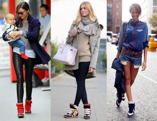 сникеры Isabel Marant. Это модный тип кроссовок