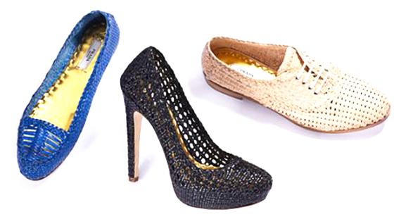 Замечательная плетеная летняя обувь c недели моды