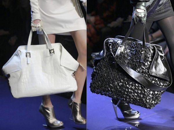 Ведущие дизайнеры в своих коллекциях представляют объемные сумки