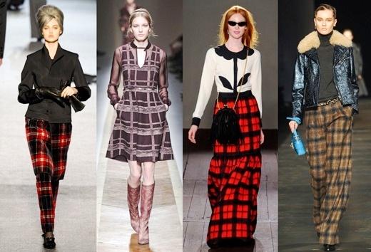 Одежда с шотландским орнаментом на пике популярности
