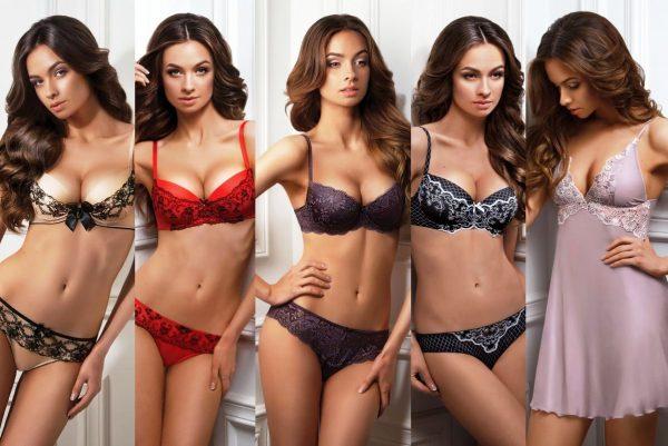 Нижнее белье занимает главное место в женском гардеробе