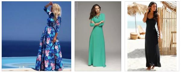 94c9d595cc1 Какие длинные платья популярны в этом сезоне