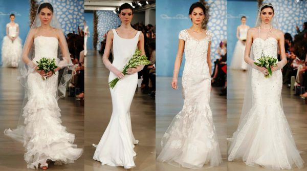 Модные коллекции нынешнего сезона предлагают свадебные платья белого