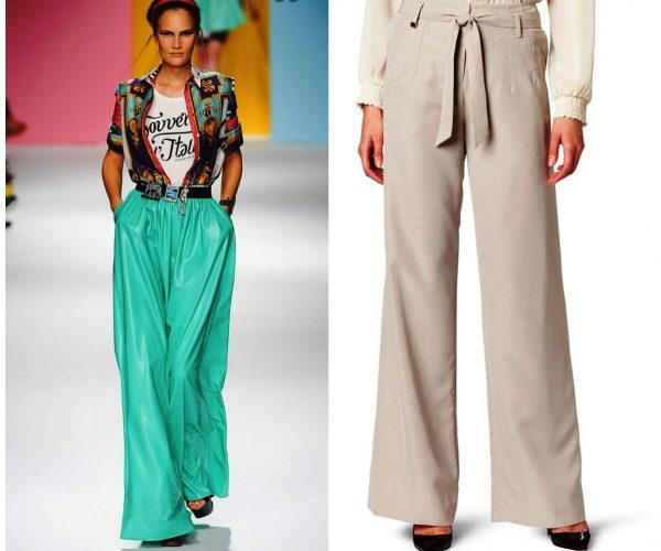 В новом сезоне будут популярны брюки разных расцветок и моделей