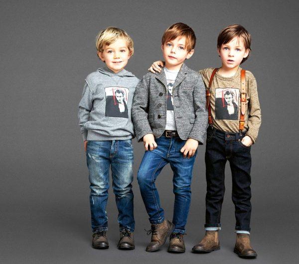 А мальчики будут невероятно стильными в своей новой одежде