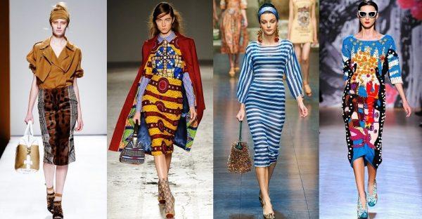 Африканский стиль в одежде прочно занял свое место на подиуме