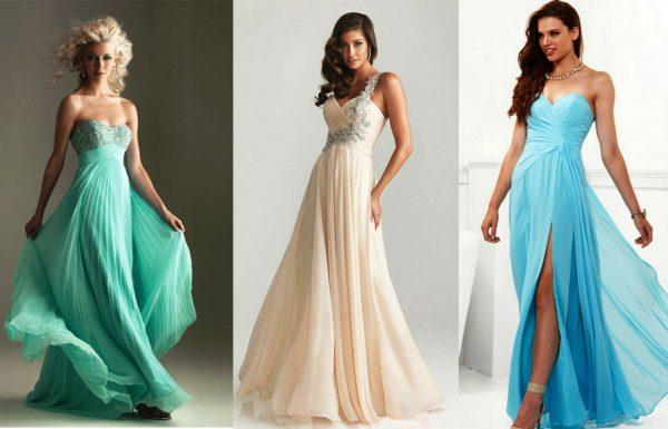 Классическое вечернее платье подчеркнет красоту и юность девушки