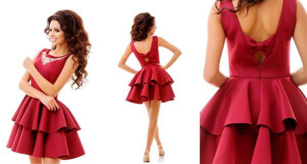 Коктейльное платье - отличный выбор для выпускного вечера