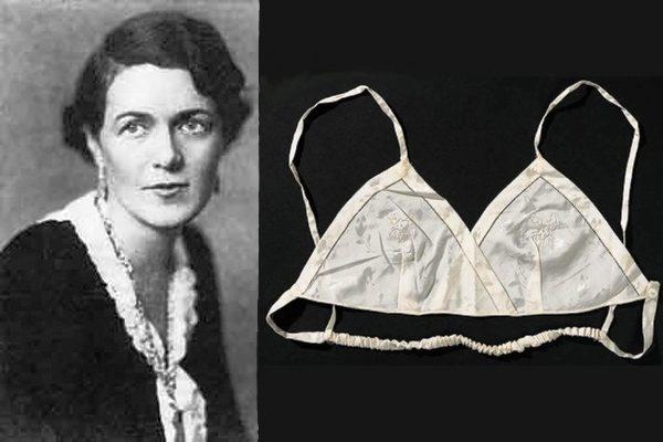 Мэри Джекобс и первый лифчик, созданный ею в 1914 году