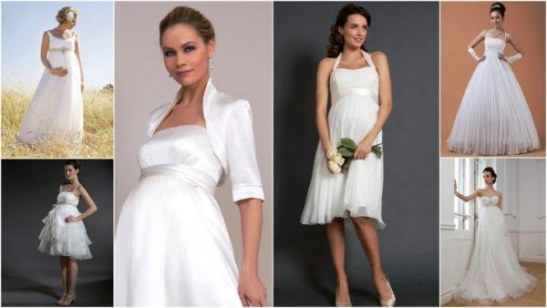 Самое главное для беременной невесты - в платье должно быть комфортно и удобно