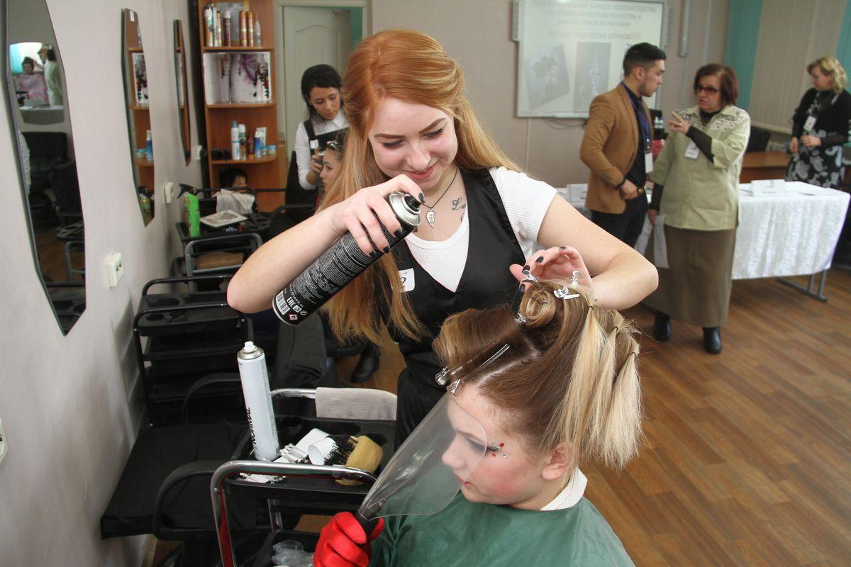целом для курсовая парикмахера фото до и после доверия поможет