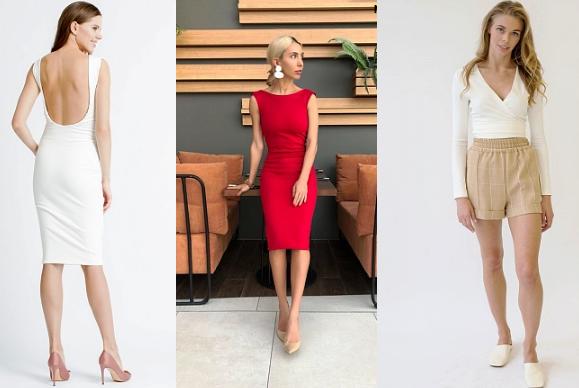 Стильная дизайнерская одежда для женщин из магазина MariebyMarie