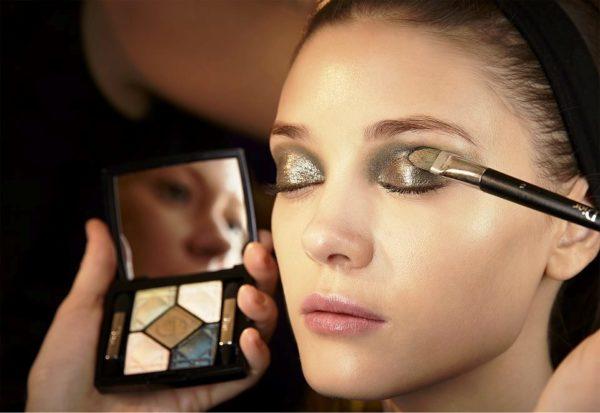 Яркий макияж от Christian Dior