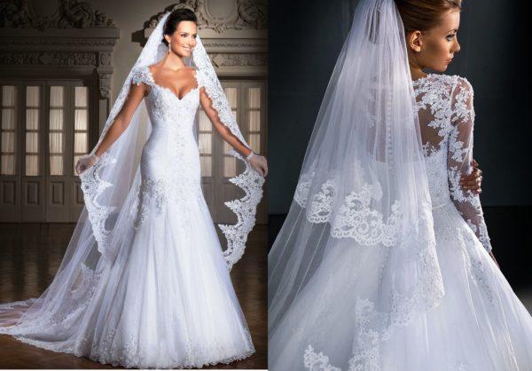 Фата - один из самых главных аксессуаров свадебного образа, который придает утонченность и роскошь