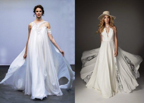 """Свободные струящиеся платья идеально подойдут девушкам с типом фигуры """"яблоко"""""""