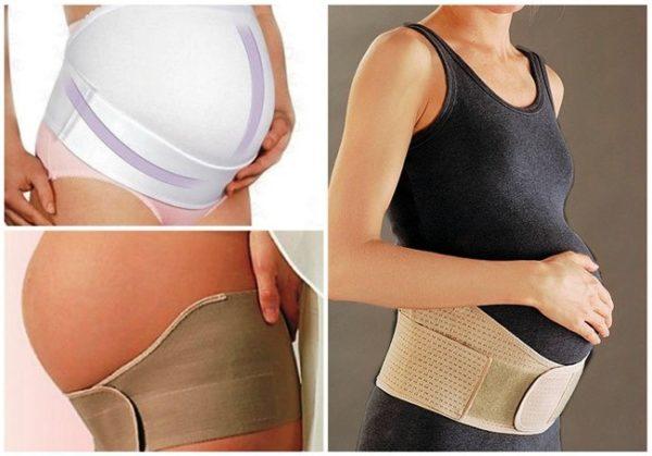 Бандаж для беременных поддерживает растущий живот и препятствует чрезмерному растяжению кожи