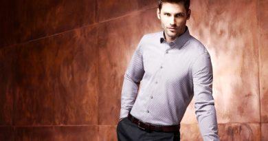 манжеты на мужской рубашке