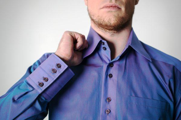 из чего состоит мужская рубашка