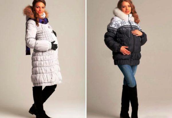 Отвечая всем перечисленным выше требованиям, куртка-пуховик для беременных сочетает в себе еще и красивый внешний вид
