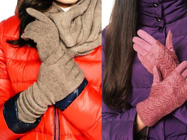 Трикотажные перчатки самые удобные в носке