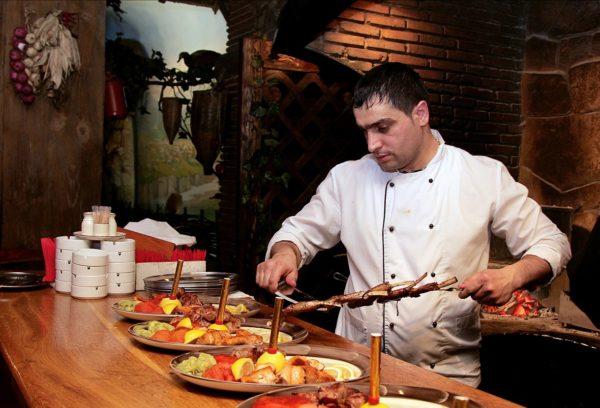 Рестораны с национальной кухней