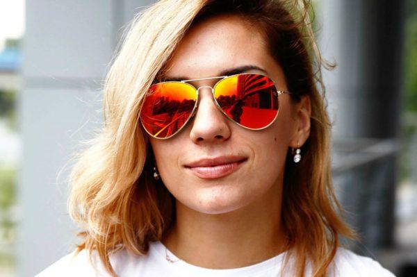 Настоящие солнцезащитные очки Ray-Ban 2