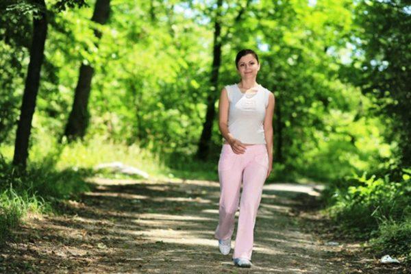 Старайтесь больше совершать пеших прогулок