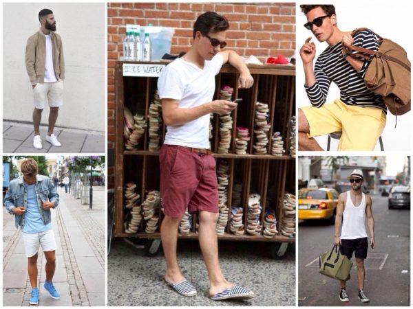 Правильно подобранный гардероб позволит тебе выглядеть в джинсовых шортах стильно и современно