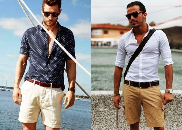 Кстати, ,шорты прямого кроя модны в этом сезоне