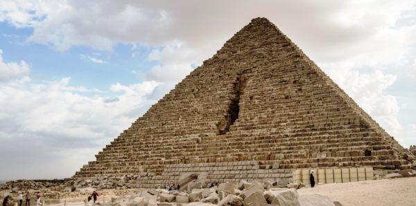 Пирамида Микерина - третья пирамида Гизы