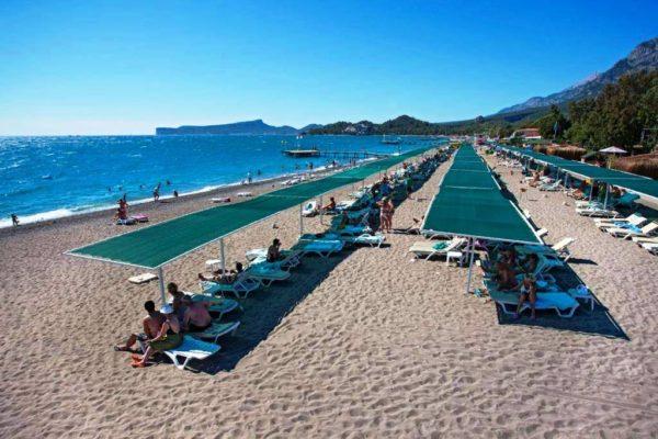 Пляж отеля Маджести мираж парк